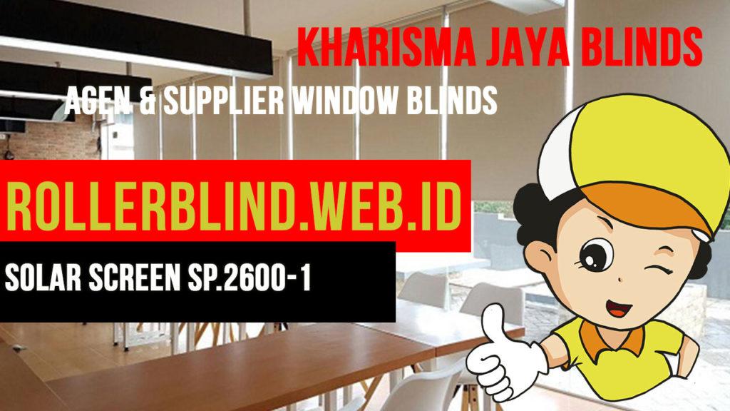 Roller Blinds Chain XL Sharp Point Solar Screen SP.2600-1