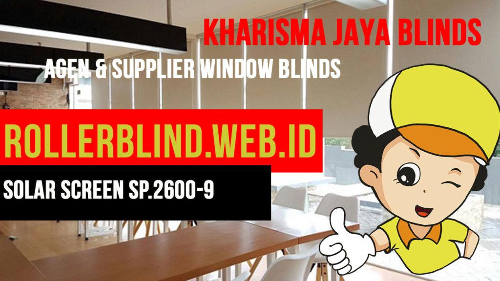Roller Blinds Chain XL Sharp Point Solar Screen SP.2600-9